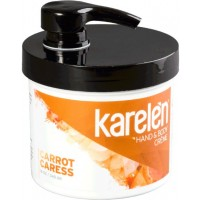 Carrot Caress Hand & Body Crème : 12 oz